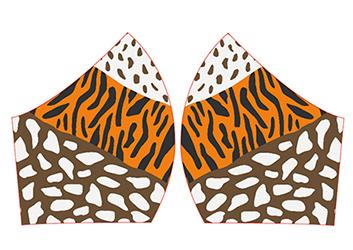 M Animal Print